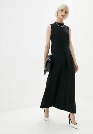 Платье MM6 Maison Margiela. Цвет: черный