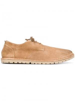 Классические туфли дерби Marsèll. Цвет: коричневый