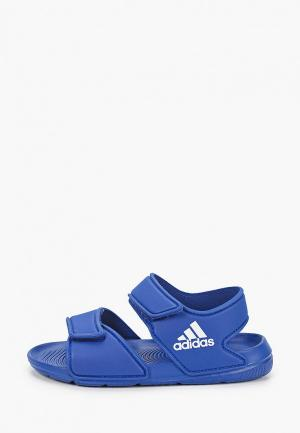 Сандалии adidas Originals. Цвет: синий
