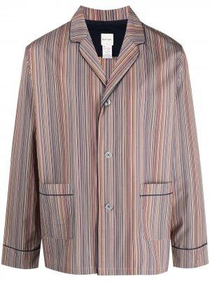 Пижама в полоску Artist Stripe PS Paul Smith. Цвет: нейтральные цвета
