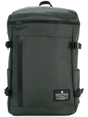 Прямоугольный рюкзак Makavelic. Цвет: серый