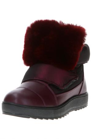 Ботинки MASSIMO SANTINI. Цвет: бордовый