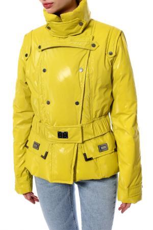 Куртка Roccobarocco. Цвет: желтый