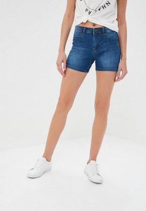 Шорты джинсовые Jacqueline de Yong. Цвет: синий