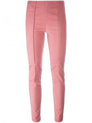 Брюки Podium A.F.Vandevorst. Цвет: розовый и фиолетовый