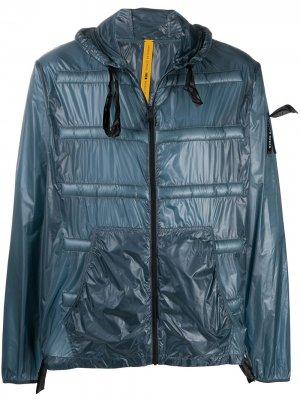 Куртка на молнии Peeve из коллаборации с Craig Green Moncler. Цвет: синий