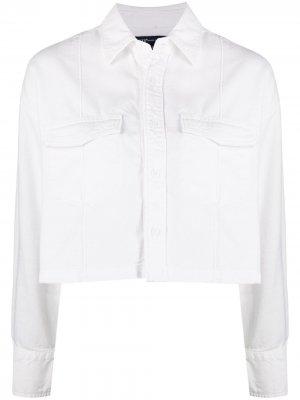 Levis: Made & Crafted укороченная джинсовая куртка Levi's:. Цвет: белый
