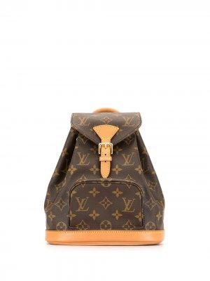 Мини-рюкзак Montsouris 1997-го года Louis Vuitton. Цвет: коричневый