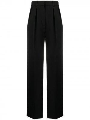 Прямые брюки с завышенной талией Victoria Beckham. Цвет: черный