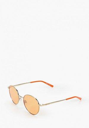 Очки солнцезащитные M Missoni. Цвет: оранжевый