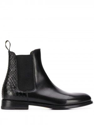 Ботинки челси Ottavia Scarosso. Цвет: черный