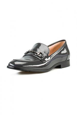 Туфли закрытые Giotto. Цвет: серый
