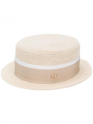 Шляпа Auguste Maison Michel. Цвет: нейтральные цвета