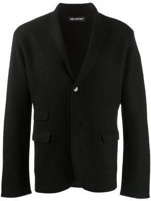 Трикотажный пиджак Neil Barrett. Цвет: черный