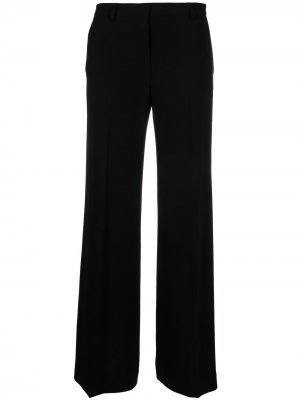 Укороченные брюки прямого кроя Alberto Biani. Цвет: черный