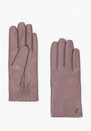 Перчатки Fabretti. Цвет: розовый