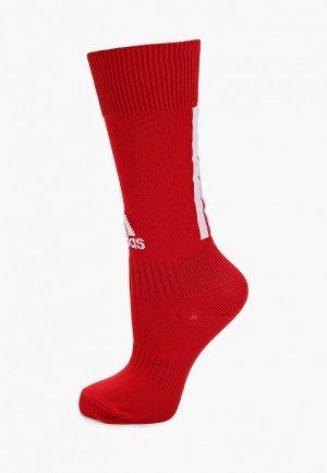 Гетры adidas. Цвет: красный