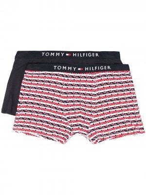 Набор из двух трусов-брифов Tommy Hilfiger Junior. Цвет: синий