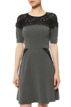Платье Almatrichi. Цвет: серый
