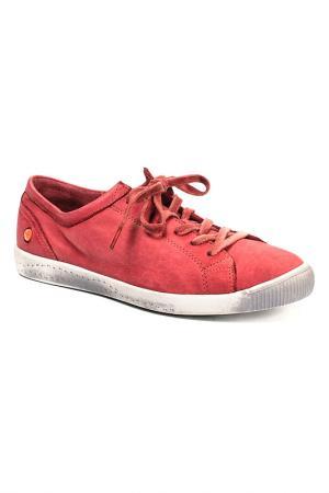 Кеды SOFTINOS. Цвет: красный