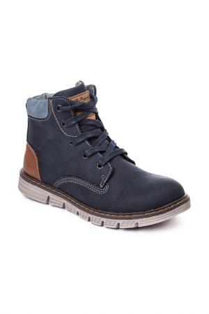 Ботинки SCOOL S'COOL. Цвет: темно-синий