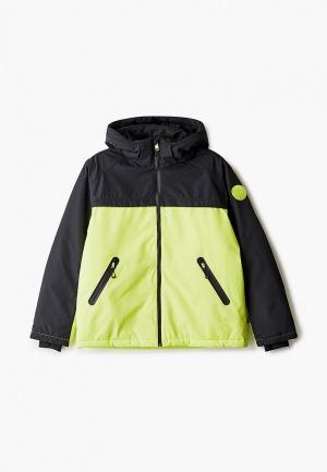 Куртка горнолыжная Diesel. Цвет: зеленый