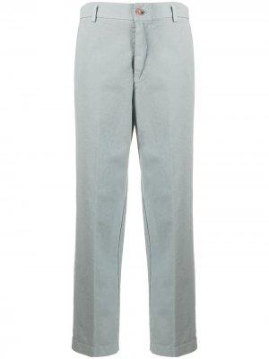 Укороченные брюки 2010-х годов Forte. Цвет: серый