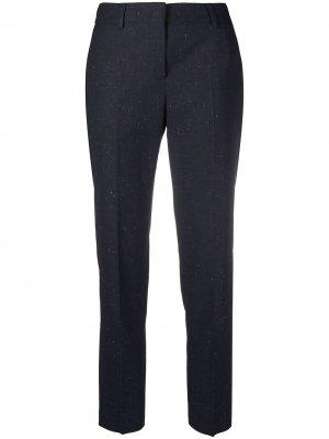 Зауженные брюки PS Paul Smith. Цвет: синий