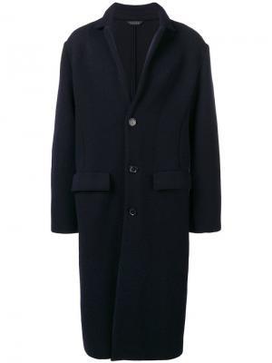 Classic single-breasted coat Falke. Цвет: черный