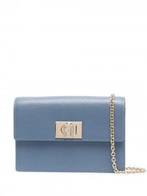 Поясная сумка Cosy Furla. Цвет: синий