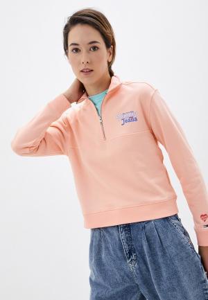 Олимпийка Tommy Jeans. Цвет: коралловый