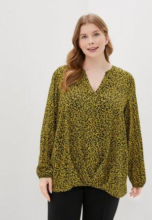Блуза Samoon by Gerry Weber. Цвет: желтый