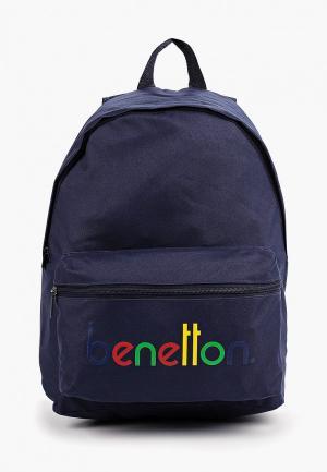 Рюкзак United Colors of Benetton. Цвет: синий