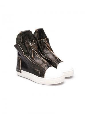 Softy ankle boots Cinzia Araia Kids. Цвет: коричневый