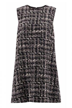 Платье Dolce & Gabbana. Цвет: серый