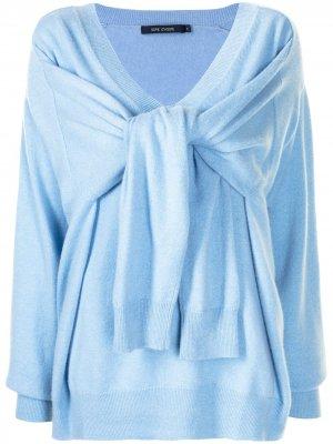 Sofie Dhoore кашемировый пуловер оверсайз D'hoore. Цвет: синий