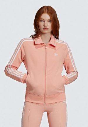 Олимпийка adidas Originals. Цвет: розовый