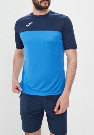 Футболка Joma. Цвет: синий