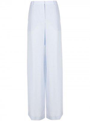 Брюки широкого кроя Nina Ricci. Цвет: синий