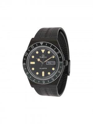 Наручные часы Q Timex Reissue Color Series 38 мм. Цвет: черный