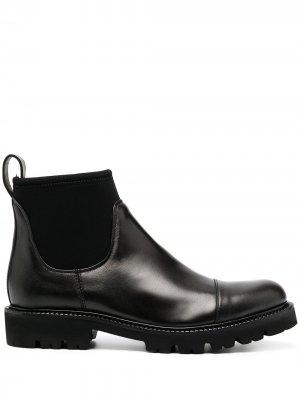 Ботинки-носки Peserico. Цвет: черный