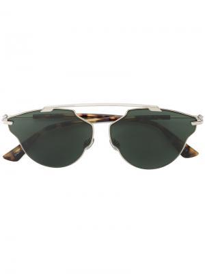 Солнцезащитные очки So Real Dior Eyewear. Цвет: золотистый