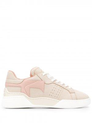 Tods кроссовки с монограммой Tod's. Цвет: нейтральные цвета
