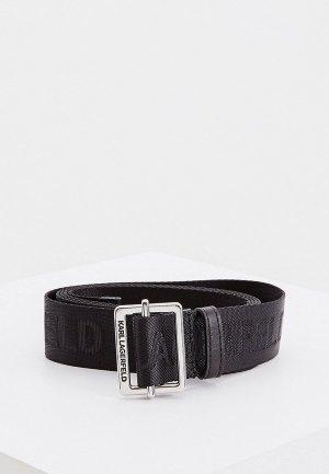 Ремень Karl Lagerfeld. Цвет: черный