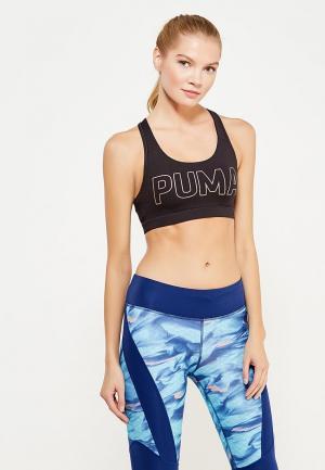Топ спортивный PUMA. Цвет: черный