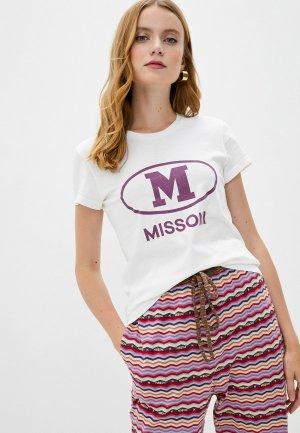 Футболка M Missoni. Цвет: белый