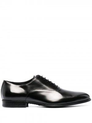 Туфли оксфорды Cesare Paciotti. Цвет: черный