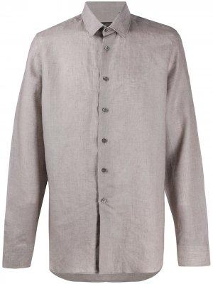 Delloglio рубашка с длинными рукавами Dell'oglio. Цвет: нейтральные цвета