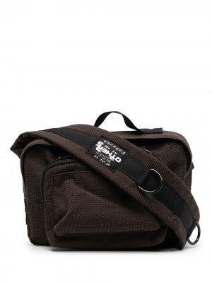 Рюкзак с нашивкой-логотипом Eastpak. Цвет: коричневый