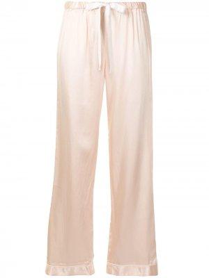 Пижамные брюки Chantal Morgan Lane. Цвет: розовый